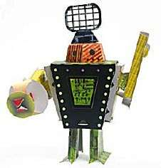 KOKINO ROBOTO - A Paper Robot kit by Joe FREEDMAN (USA) - image 1