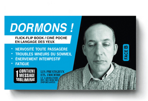 BÂILLONS ! - Couverture verso du flipbook de Serge MORIN
