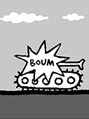 BOUM un flipbook de Serge MORIN (2006 / France) - Extrait 3