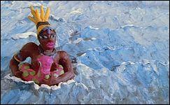 Kamasutra  Animation en pâte à modeler de Lyonel KOURO (France - 1990)
