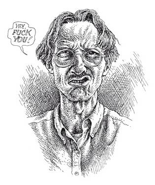 Robert CRUMB self portrait in 1992