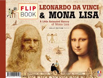 Flipbook : LEONARDO DA VINCI & MONA LISA - verso cover