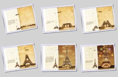 LE GRAND FLIP-BOOK DE LA TOUR EIFFEL - 6 pages en miniatures