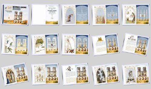 NOTRE-DAME DE PARIS - 15 pages en miniatures