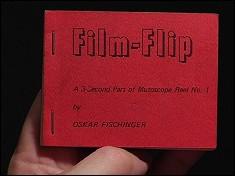Film-Flip - un flipbook de Oskar FISCHINGER (1970)