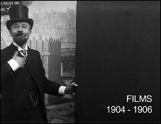 DVD 3 : FILMS 1904 - 1906 - photograph taken from the DVD menu
