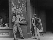 POST NO BILLS - un film de Ralph CEDAR (USA, 1923) - Image