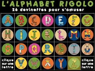 L'Alphabet rigolo - une série de Christine LEYAT et Claude JACQUIN (2004 - France)