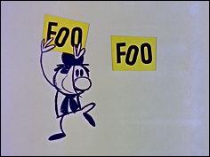 FOO FOO - THE STOWAWAY  Foo Foo - Le Clandestin (1960 - 6 min)