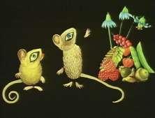 LE RAT DE MAISON ET LE RAT DES CHAMPS - Réalisé par Evelyn LAMBART