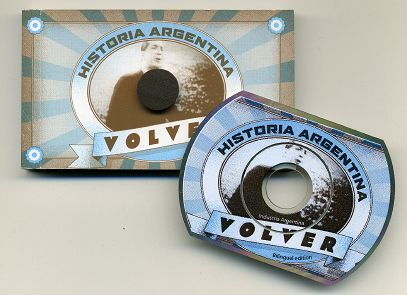 Carlos GARDEL sings VOLVER - The flipbook and the CD
