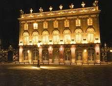 Opéra de Nancy et de Lorraine de nuit - Photographie