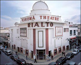 Le cinéma Rialto à Casablanca - Photographie