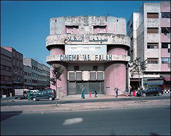 Le cinéma Al falah à Casablanca - Photographie