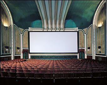 Le cinéma Avenida à Tétouan - Photographie