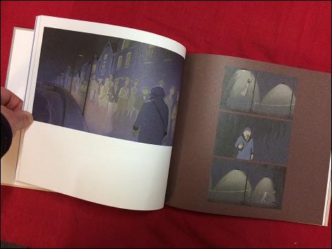 2 pages du livres en photographie