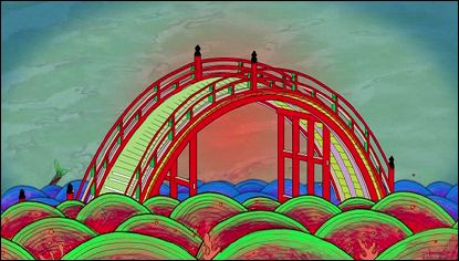 RED COLORED BRIDGE a film by Keiichi Tanaami