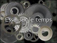 Essai sur le temps - Webzine about Jacques DROUIN by Stéphane LAFLEUR  (2001) - image