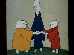 LES TROIS MOINES-Réalisé par Ah Da (1980)