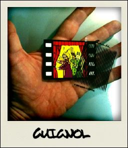 GUIGNOL - the card seen on photograph