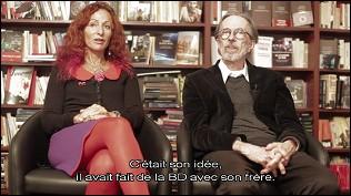 Robert CRUMB et Aline - photographie