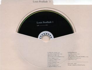 LOUIS FEUILLADE - DVD 1 : recto