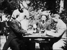 A game of cards (1896) - a film by Georges MÉLIÈS - picture