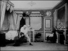Going to bed under difficulties (1900) - a film by Georges MÉLIÈS - picture