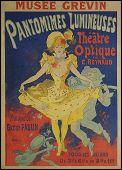 Pantomimes Lumineuses  (1892) Affiche de Jules CHERET