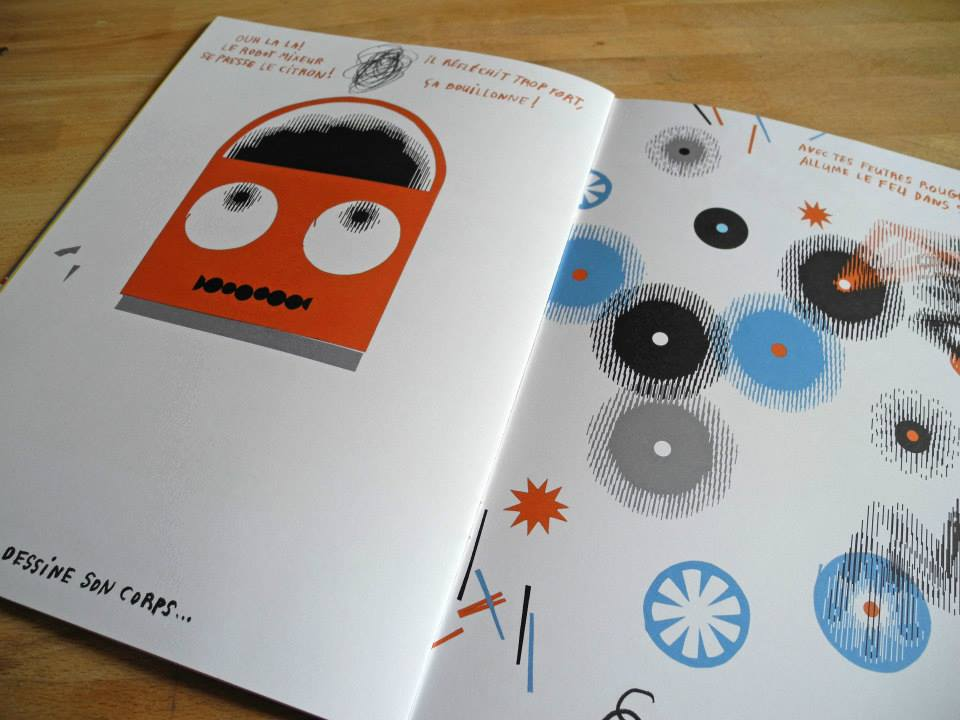 Book : MES ROBOTS EN PYJAMARAMA - pages 24 & 25