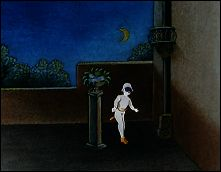 Pauvre Pierrot - un film de Emile REYNAUD - 1892 - image