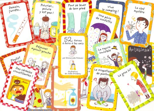 52 farces à faire à tes amis - Few cards