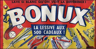 Logo of washing powder BONUX