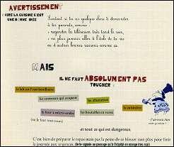Vincent MALONE - Avertissement