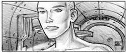Dante 01 - Extrait du storyboard