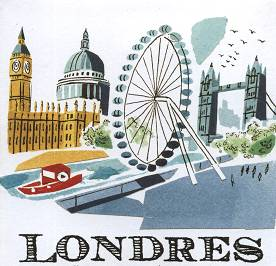 LONDON - Illustration by Sarah McMENEMY