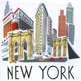 NEW YORK - Illustration by Sarah McMENEMY