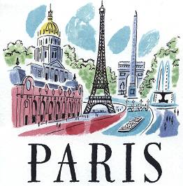 PARIS - Illustration by Sarah McMENEMY