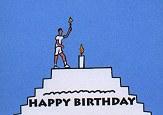 THE BIRTHDAY FLAME a flipbook by Matthew MAYER (USA)