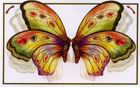 Kissing Butterflies card