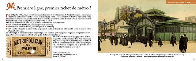 Petite histoire du ticket de métrop parisien - Pages 12 et 13