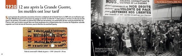 Petite histoire du ticket de métrop parisien - Pages 30 et 31