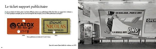 Petite histoire du ticket de métrop parisien - Pages 40 et 41