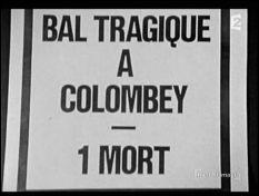 Bal tragique à Colombey - l'affiche