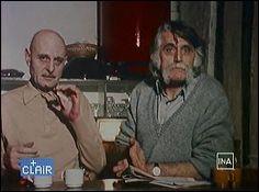 Le Professeur CHORON et François CAVANNA
