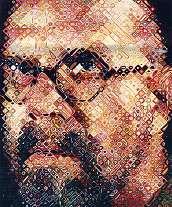 Portrait de Chuck CLOSE