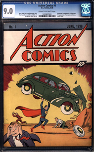 Couverture du ACTION COMICS 1