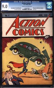 Couverture du ACTION COMICS 1