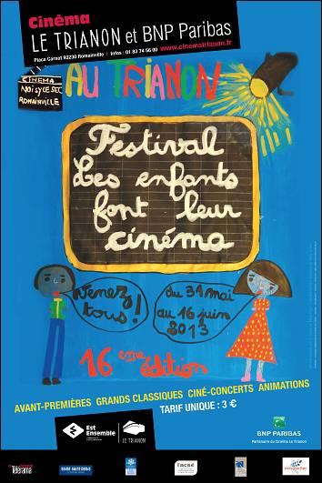 L'affiche du festival 2013