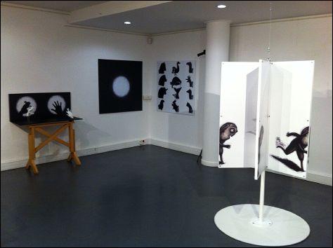 KALI LE PETIT VAMPIRE - photo de l'exposition de Regina PESSOA